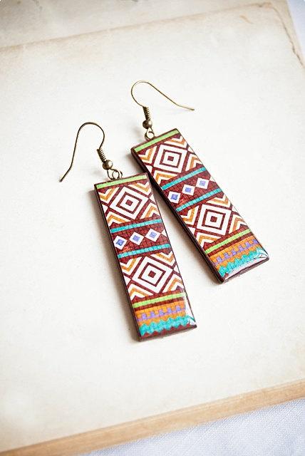 Tribal earrings