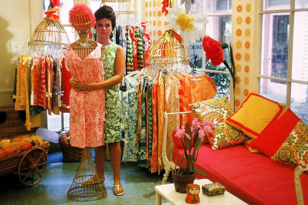 Lilly Pulitzer's Legacy. I do love vintage '60s and '70s Lilly.