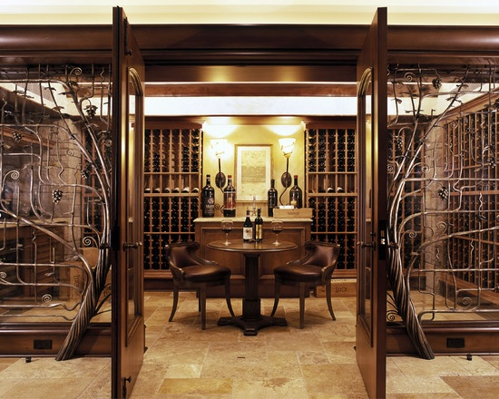 wine cellars design pictures remodel decor and ideas page 17 - Home Wine Cellar Design Ideas