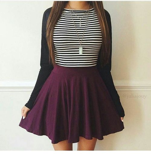 Imagem de outfit, skirt, and style