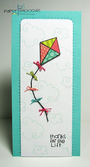 Kite card - Tarjeta de cometa