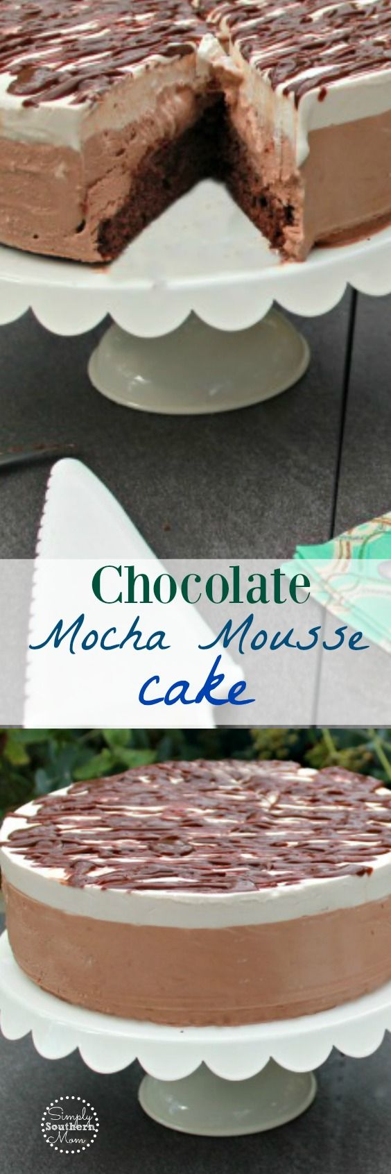 Chocolate Mocha Mousse Cake