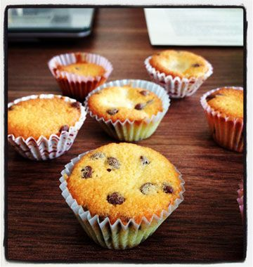 Muffins bananes vanille et chocolat - Ôdélices : Recettes de cuisine faciles et originales !