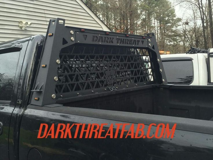 DARK THREAT FABRICATION We build custom truck accessories to meet your needs! Check out our latest fab work at WWW.DARKTHREATFAB.COM