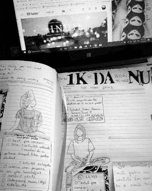 The Owl: Aventurile mele de bullet journaling în 2017