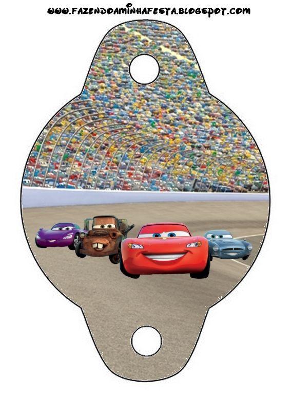 Imprimibles gratis de Cars, especial fiestas.