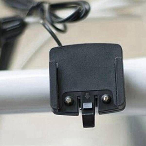 EU Direct | Super Large Screen LED Display Cycling Bicycle Bike Computer Odometer Speedomete
