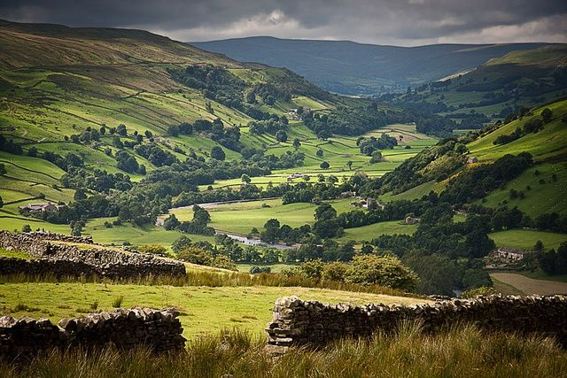 Yorkshire Dales, England | The Yorkshire Dales | Oh England, my Lionheart!