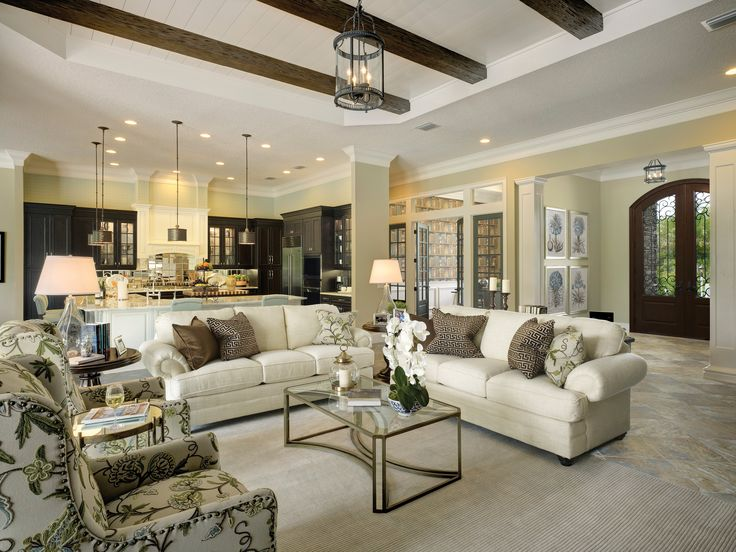 Neal Signature Homes Living Room In The Dominica II Model At The  Concession. #theconcessionrealestate