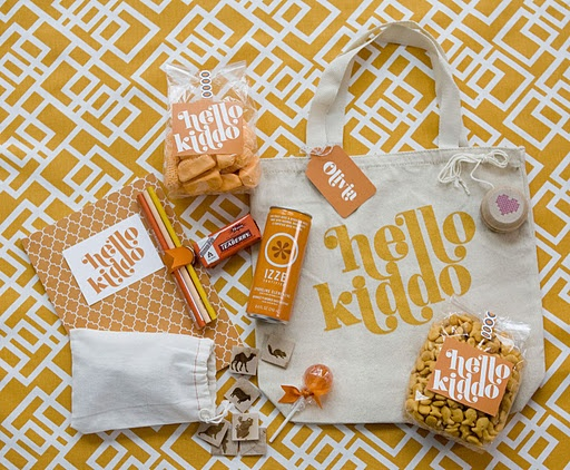 Kid Gift Bag Great Idea For Kids Table Or Gifties For The Flower