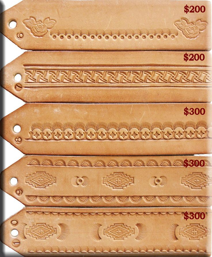 Easy leather carving patterns
