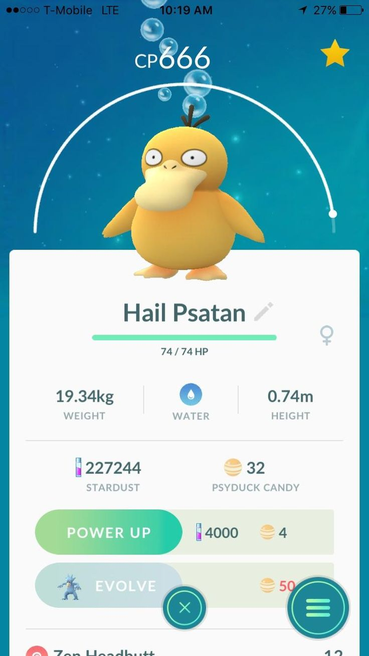 I caught this Satanic Psyduck today