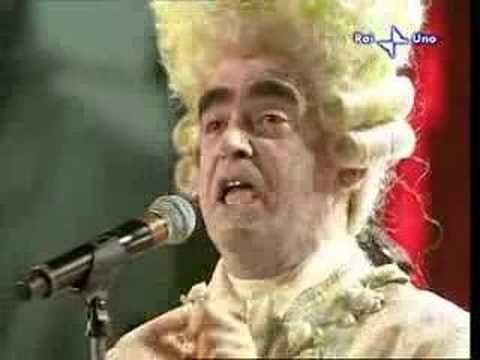 """Elio E Le Storie Tese - Largo Al Factotum (dall'Opera """"Il Barbiere di Siviglia"""",Gioacchino Rossini) _Live In Sanremo,2008"""