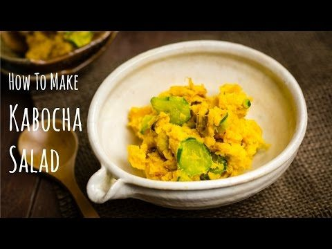 How To Make Kabocha Salad | Washoku.Guide