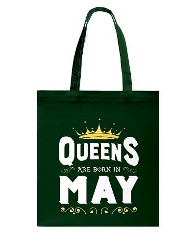 Queens Are Born In May Birthday T - Shirt
