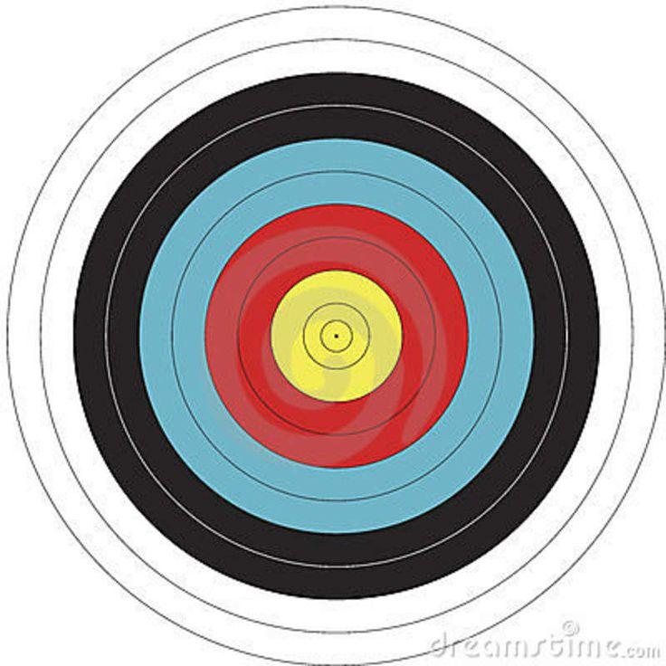 122cm FITA design Archery Target Archery target, Archery