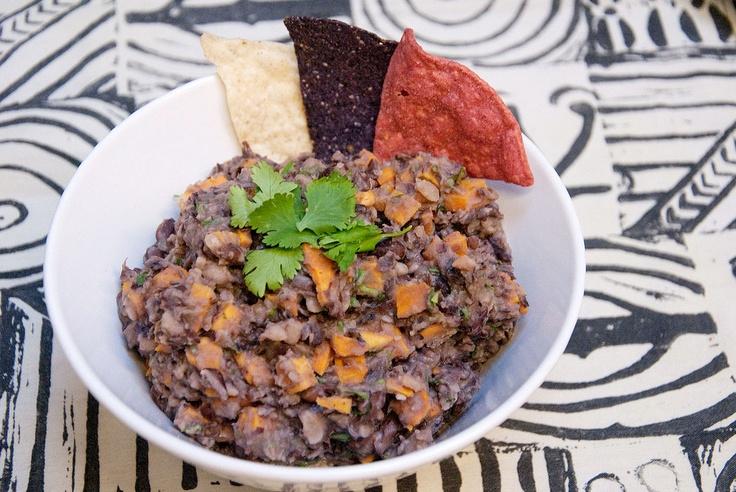 ... Experiments | Pinterest | Sweet Potato Dip, Black Beans and Dips