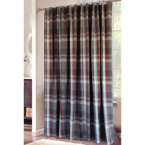 Found it at Wayfair - Grand Teton Plaid Shower Curtain