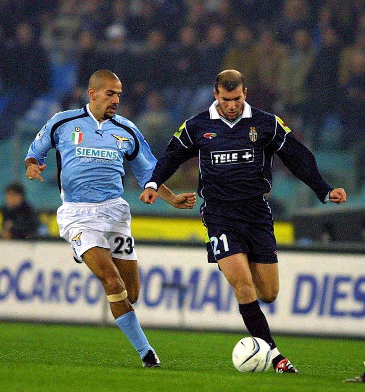 Veron & Zidane | #lazio | #juventus