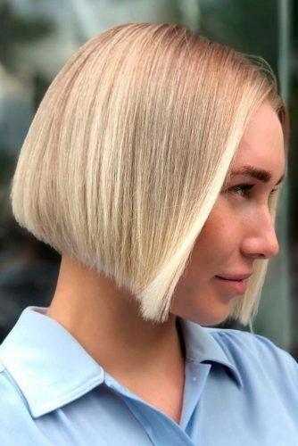 Probieren Sie neue kurze Bob-Frisuren in dieser Saison aus ★ #invertedbobhairstyles