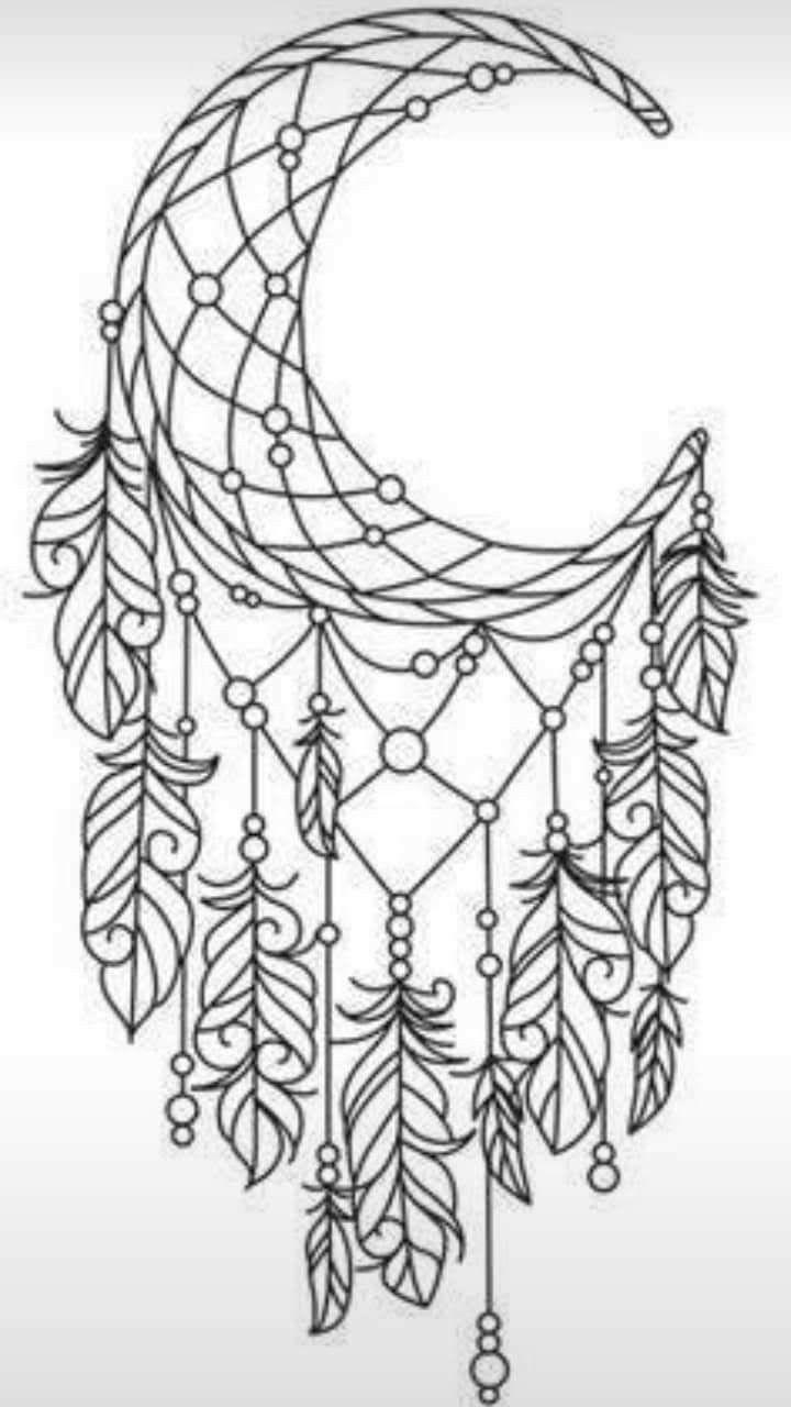 Pin De Sylvia De Graaff En Tatuajes Atrapasuenos Dibujo Libro De Colores Disenos De Bordados