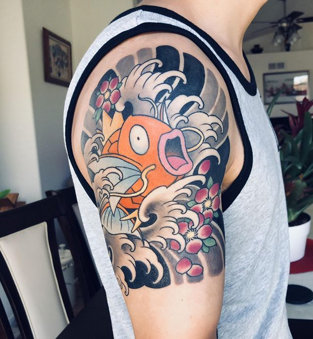 Koi Fish Are Another Of The Most Popular Tattoo Designs In