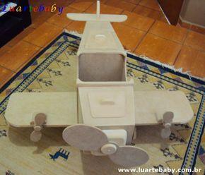 Luartebaby Artesanato:   Avião para decoração de festa de aniversario 1 m...