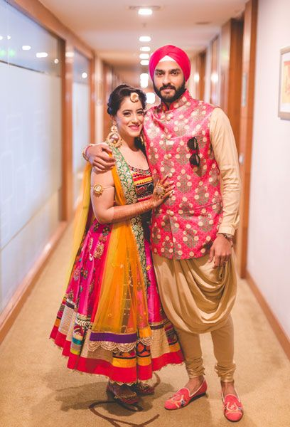 A beautiful Sikh wedding in delhi thats stolen our heart, not just from its look but from the love story at its start! Birti,Japji and see their wow wedding