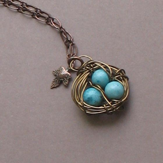 30 best birds nest pendant images on pinterest bird nests jewels birds nest pendant aloadofball Choice Image