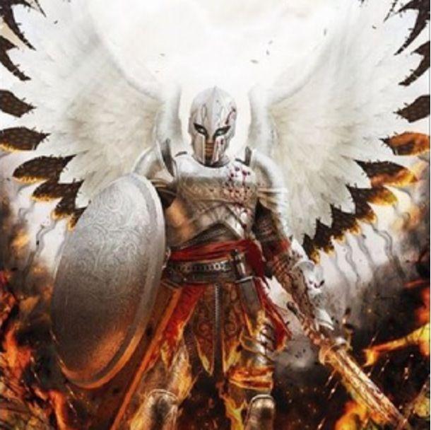 Found on art alphacoders comAngel Warriors Vs Demons