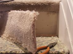 trap renoveren - trapbekleding tapijt verwijderen