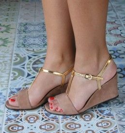 My new - go with anything - wedges.   (Chie Mihara)