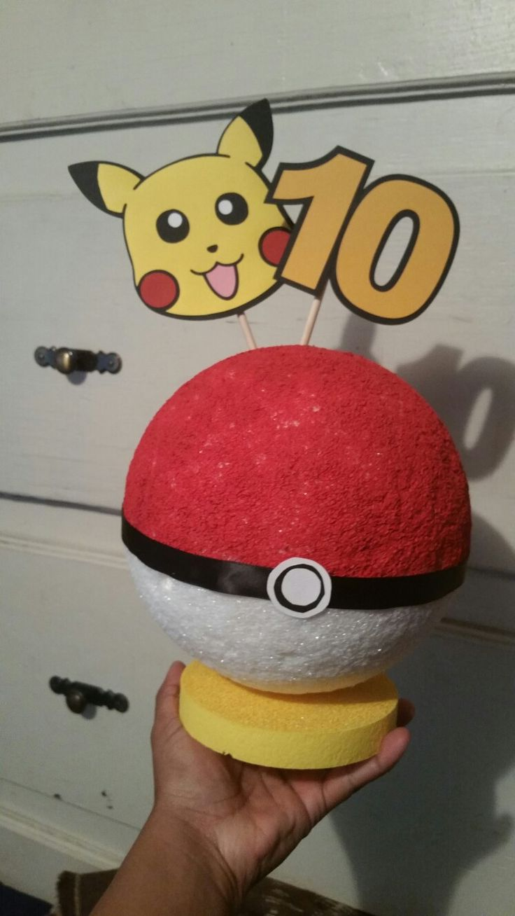 Pokemon Table Centerpiece
