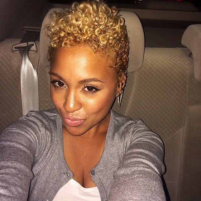 Blonde Tapered Cut M Love Short Haired Ladies