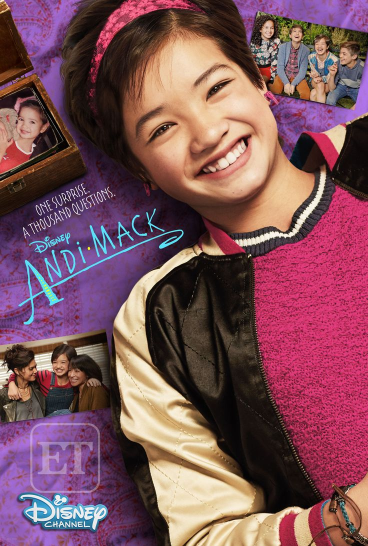 EXCLUSIVE: Here's When Disney Channel's New Show 'Andi Mack' Premieres -- Plus, Hear Sabrina Carpenter Sing the Theme Song!