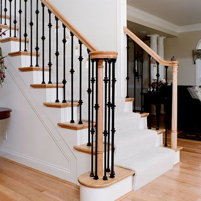 Best Stair Systems Stairs Stair Parts Newels Balusters And 640 x 480