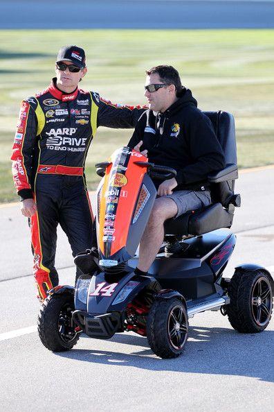 Tony Stewart - Chicagoland Speedway: Day 1