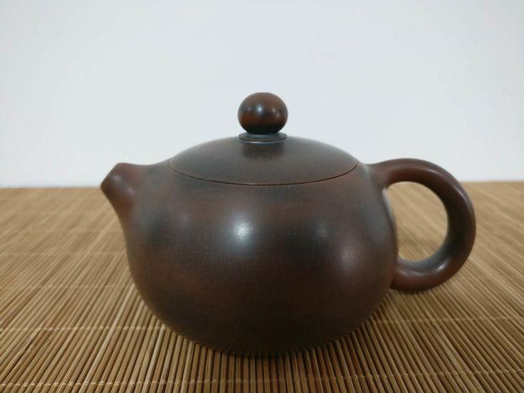 Nixing Guangxi Clay Teapot #nixing #qinzhoupottery #nixingclay #earthenware #stoneware #wheeledpottery #chineseceramics #chinesepottery #kungfutea #tea #chinesetea