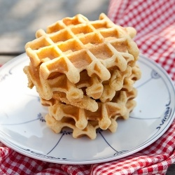 belgian waffle recipe!