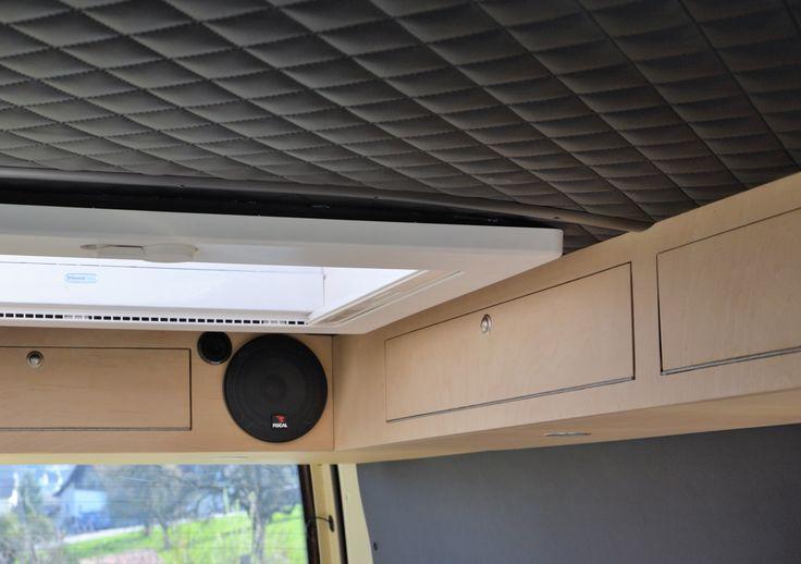 VW T4 Oberschrank mit Dachfenster
