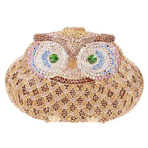 Nature Inspired Box Clutch Bags with Rhinestones & Crystals – from Fawziya – Colour My Style