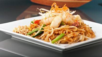 Chilli Prawn Pad Thai