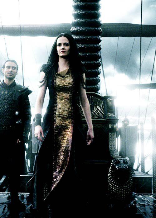 Eva Green in '300: Rise of an Empire' (2014). | fantasy ...300 Rise Of An Empire Eva Green Dress