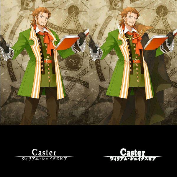 【FateGO】【Grand/Order】【キャスター/Caster】【ウィリアム・シェイクスピア】