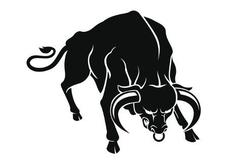 63 best images about tattoo ideas on pinterest taurus bull tattoos a bull and vector stock. Black Bedroom Furniture Sets. Home Design Ideas