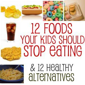 "Healthy Alternatives to Unhealthy ""Kid"" Foods"