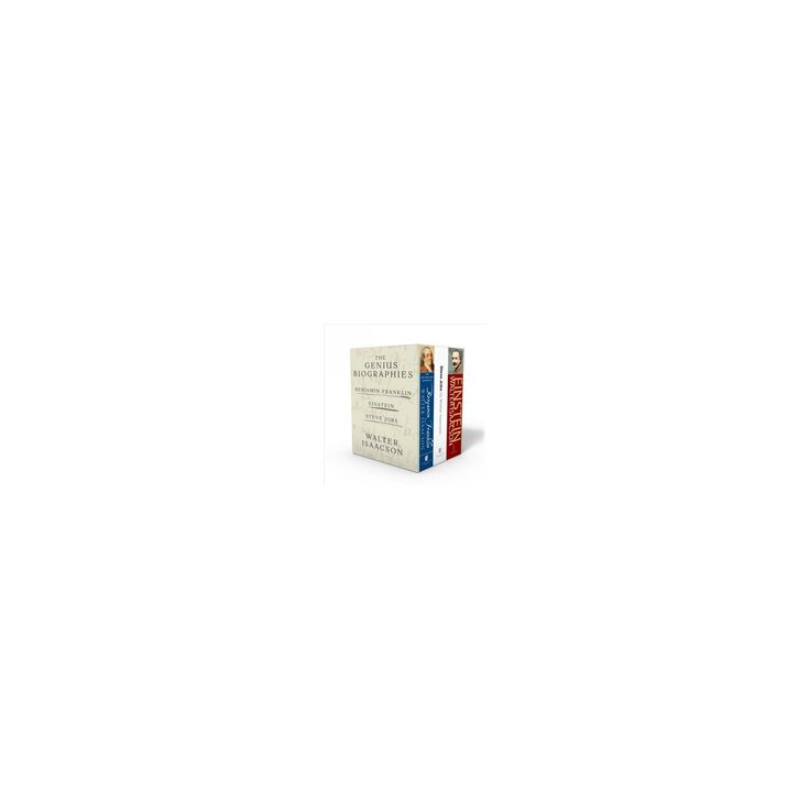 Walter Isaacson : The Genius Biographies: Benjamin Franklin, Einstein, Steve Jobs (Paperback)