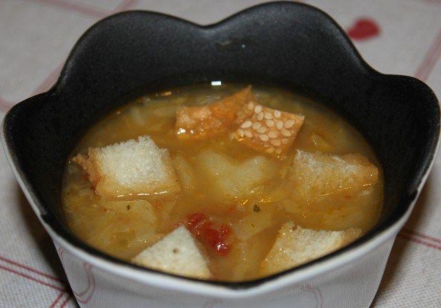 zuppa verza patate bimby