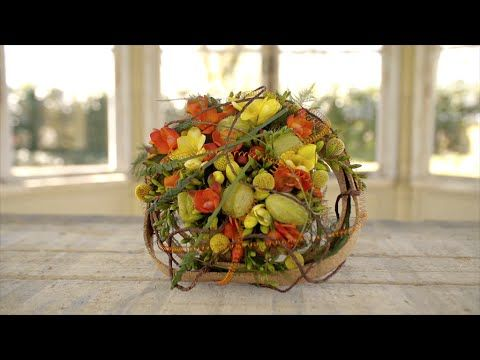 Colorful Wedding Bouquet | Flower Factor How To | Powered by Hofland Freesia - YouTube