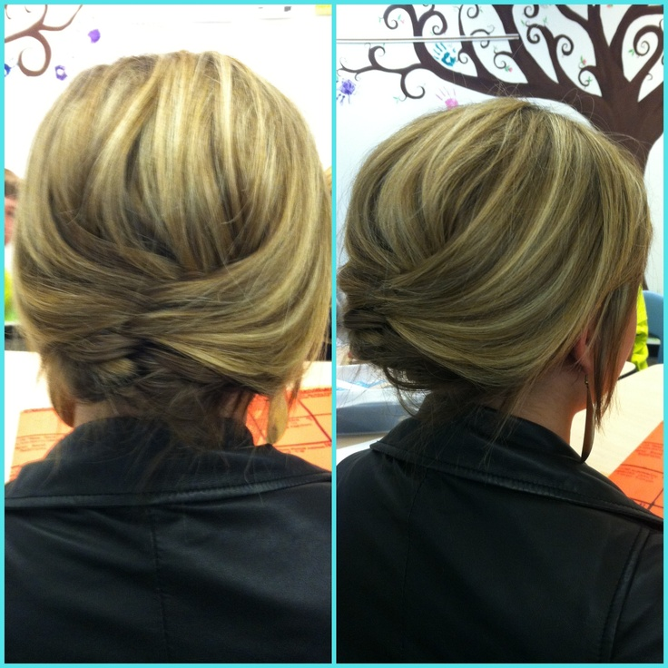 simple updo I did today on lexie :)